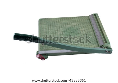 Paper Cutter - stock photo