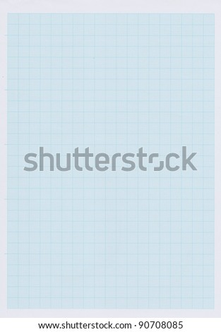 Paper graph - stock photo