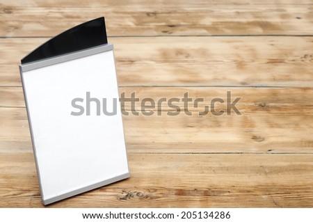 paper holder  - stock photo