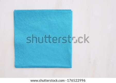 Paper Napkins - stock photo