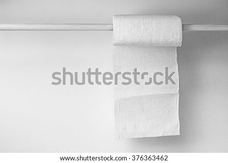 Paper napkins. - stock photo