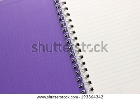 paper notebook