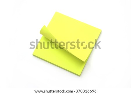 Paper notes - stock photo