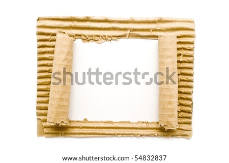 paper on a white background for your illustrations - stock photo