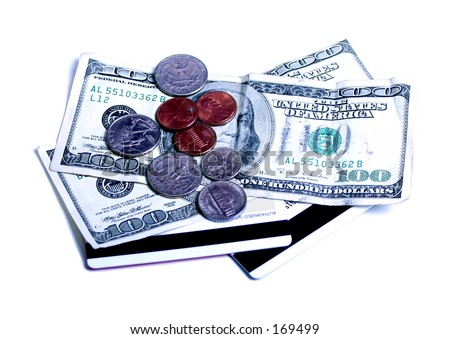 paper, plastic, or metal? - stock photo