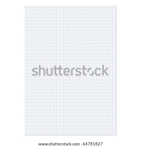 Paper sheet over a white background - stock photo