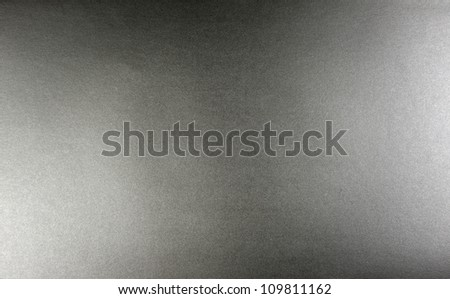 Paper silver white and dark light background closeup texture - stock photo