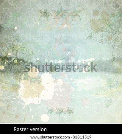 Paper texture, may use as background. Raster version. - stock photo