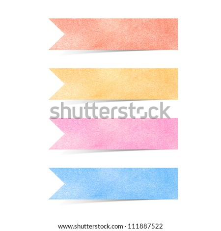 Paper texture ,Talk tag on white background