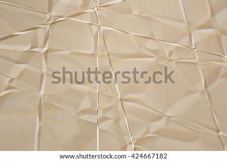 Paper texture with crease - stock photo