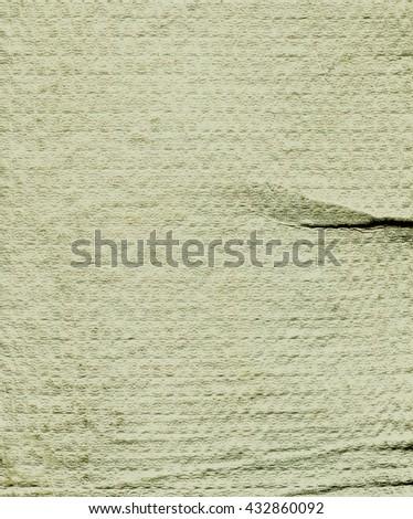 Paper. White paper Decorative paper. Vintage paper. Old paper sheet. Paper texture. Retro paper background. Watercolor paper. White textured watercolor paper. Grunge paper. Dirty paper. Paper template - stock photo