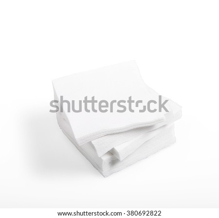 Paper wipes - stock photo