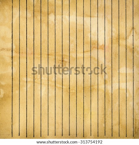 paper with lines - stock photo