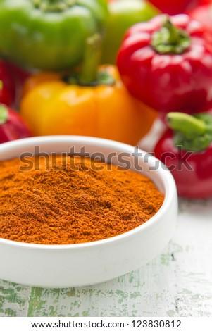 Paprika - stock photo
