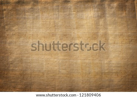 Papyrus paper texture - stock photo