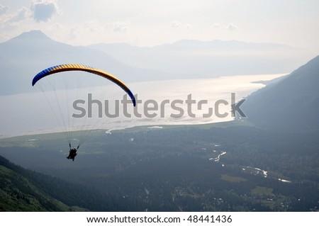 Para gliders (alaska) - stock photo