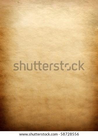 Parchment texture - stock photo