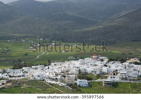 Parikia is a city in the Cyclades. It is located at the island of Paros, Greece.