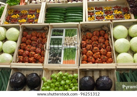 PARIS - FEBRUARY 26: Vegetables (2) at The Paris International Agricultural Show 2012 on February 26, 2012 in Paris