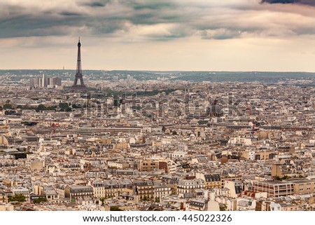 Paris, France - stock photo