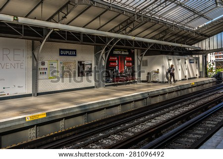 PARIS FRANCE APRIL 23 2015 Interior Stock Photo (Safe to Use ...