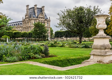 Tuileries stock photos royalty free images vectors for Jardin des tuileries 2016
