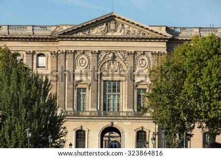 paris france september 9 2014 paris the louvre museum louvre - Biggest House In The World 2014