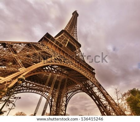 Paris, France. World Famous architecture. - stock photo
