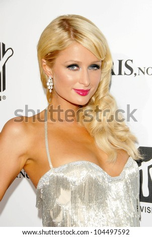 Paris Hilton  at the MTV Screening of 'Paris, Not France'. Majestic Crest Theater, Westwood, CA. 07-22-09 - stock photo