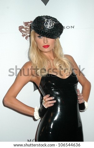Paris Hilton  at the Opening Night of 'The Pussycat Dolls Lounge'. Viper Room, West Hollywood, CA. 11-23-08 - stock photo