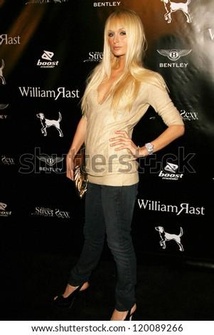 "Paris Hilton at the William Rast Spring 2007 ""Street Sexy"" Fashion Show. Social Hollywood, Los Angeles, CA. 10-17-06 - stock photo"