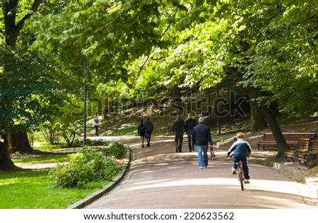 Park6 - stock photo