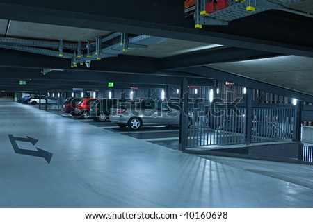Parking garage #2 - stock photo
