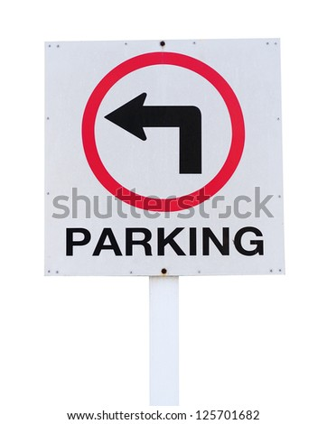 Parking sing - stock photo