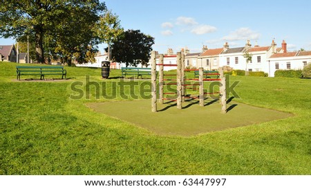 Parkland View - stock photo