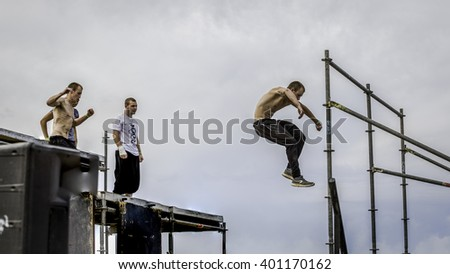 Parkour competition of 2016. This event made place in Tel-Aviv on March.04.2016, Contained 20 participants of  2 association.
