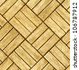Parquet floor - seamless wood background - stock photo