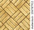Parquet floor - seamless wood background - stock photo