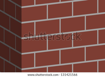 Part of brick wall (vector format also available in my portfolio)