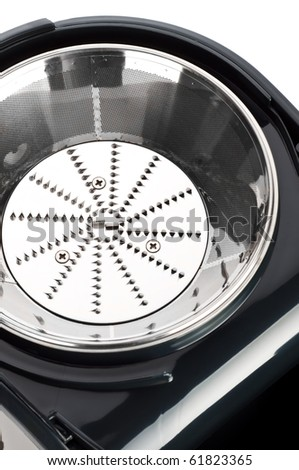 part of juice extractor close up - stock photo