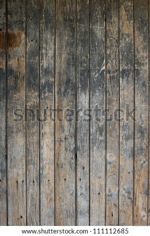 Part of old wooden door