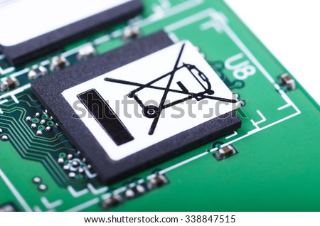 Part Printed Circuit Board Do Not Stock Photo (Royalty Free ...