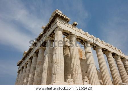 parthenon at athens, greece - stock photo