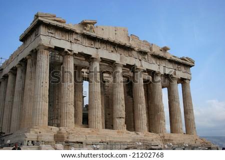 Parthenon in Athens - stock photo