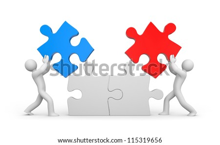 Partnership - stock photo