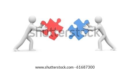 Partnership - stock photo