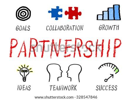 Partnership - Business Concept - stock photo