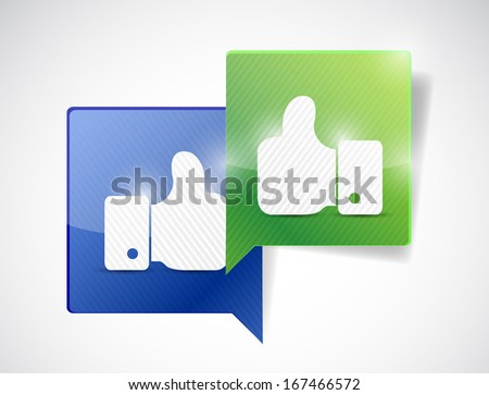 partnership communication concept illustration design over a white background - stock photo