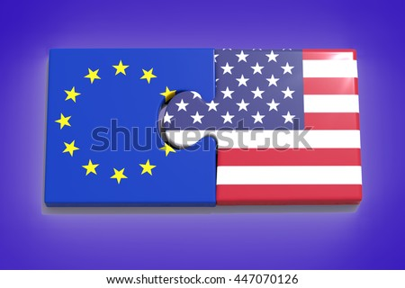 Partnership with Europe and United States / 3D Rendering