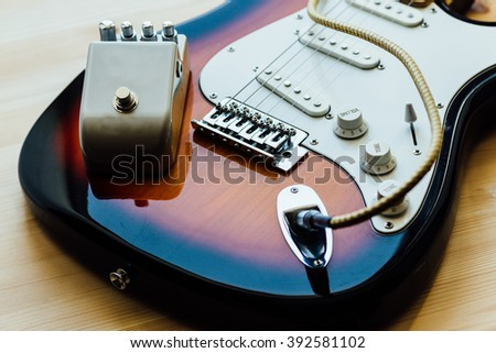 parts of electric guitar